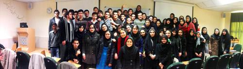 دکتر فردین عمیدی و دانشجویان پزشکی ورودی 91 تهران گروه D